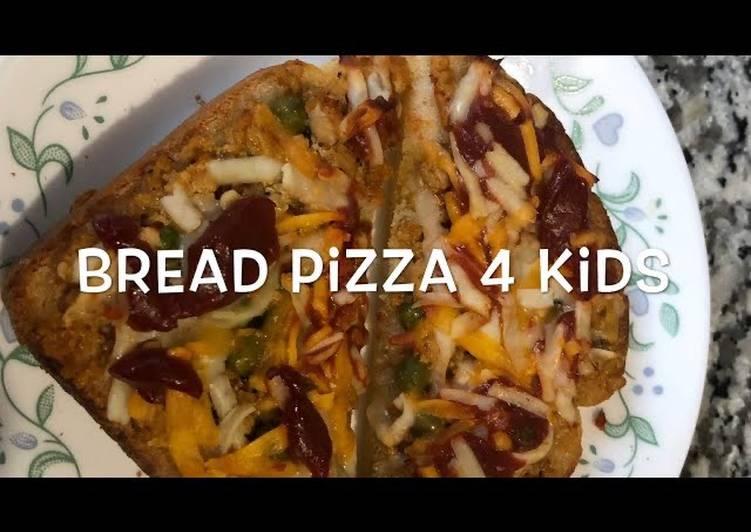 Bread Pizza 4 Kids