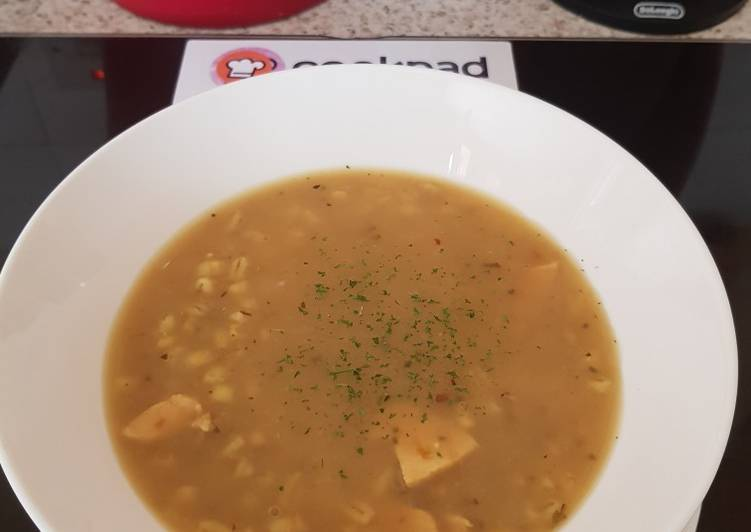 My Flavoured Chicken Barley Soup 🙄, Find out The Reality About Superfoods