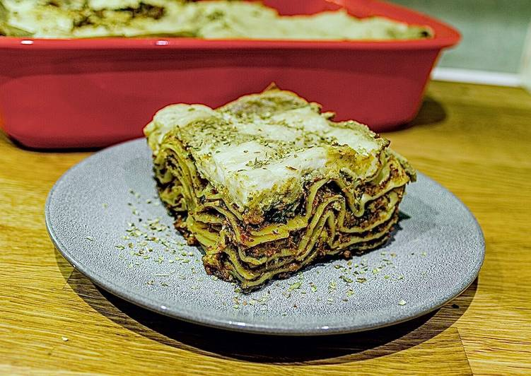How to Prepare Ultimate One hell of a delicious vegan Lasagna
