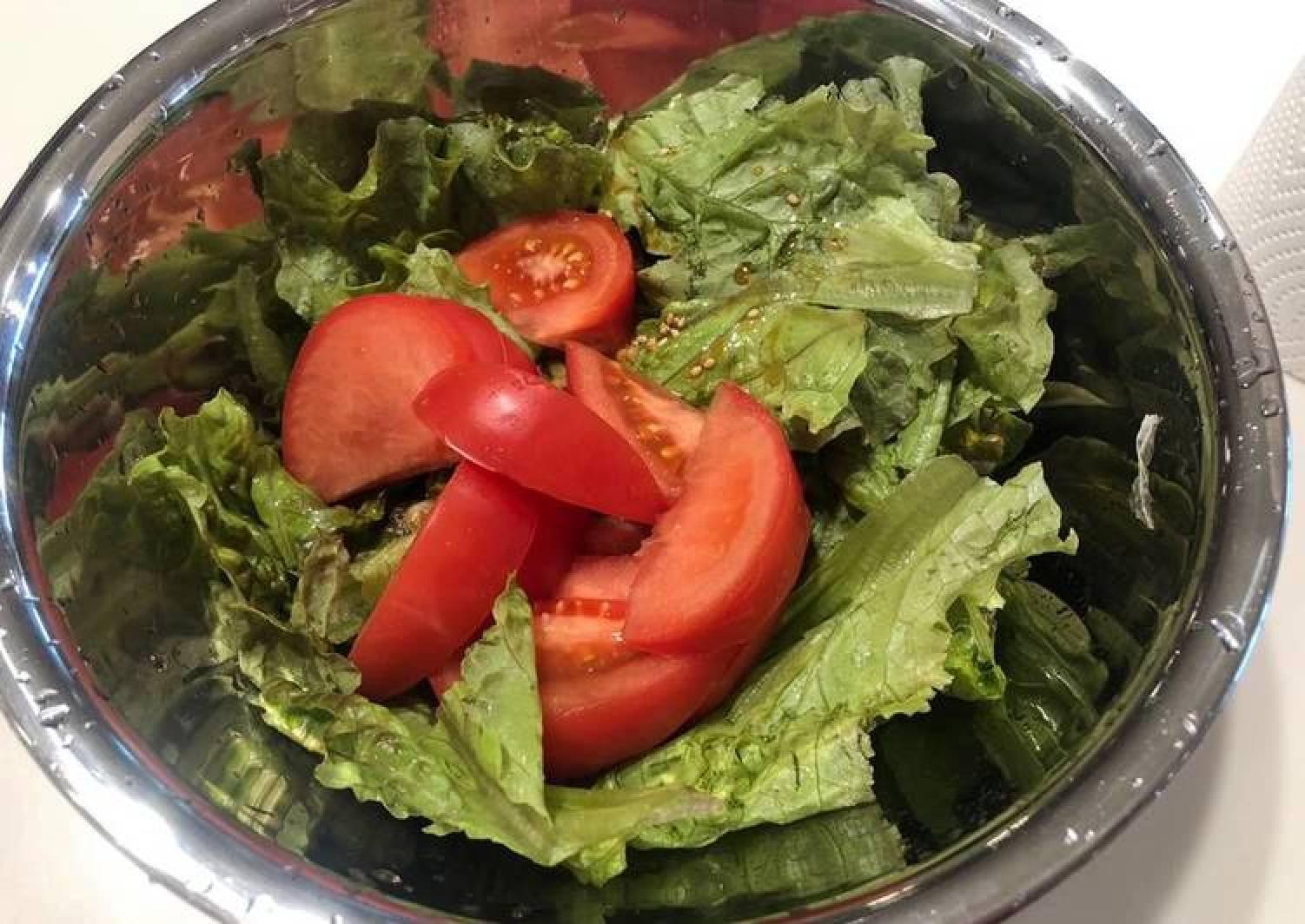 Korean Style Garlic Salad