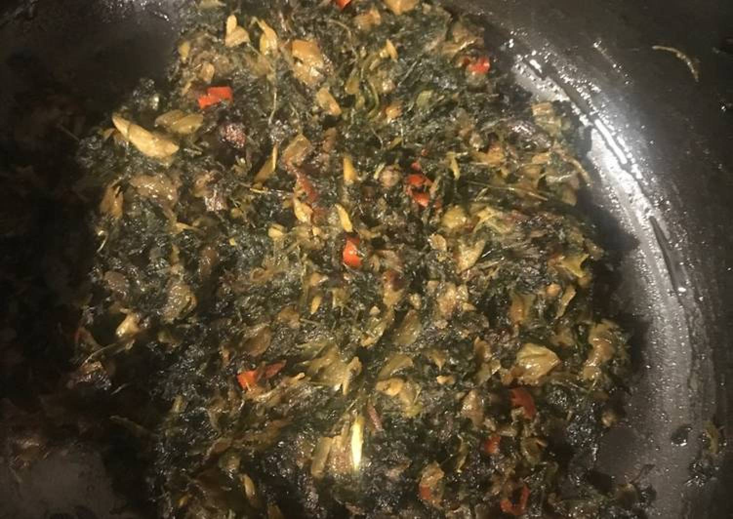 Fenugreek leaf sabzi (curry)