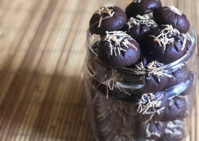 32. Nastar Coklat Keju #bakingdiary