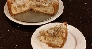 Apple Strusel Cheesecake