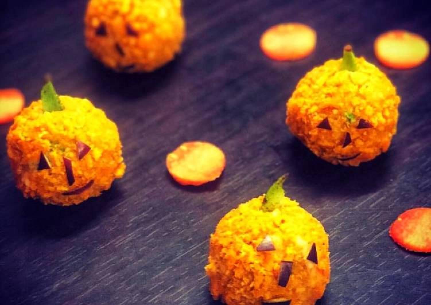 Cheese potato nuggets
