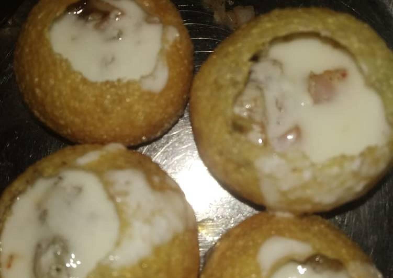 Curd masala balls