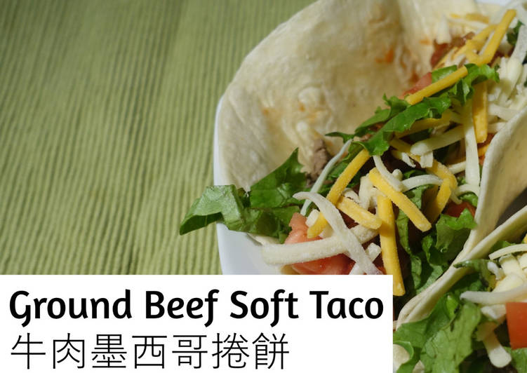 Ground Beef Soft Taco
