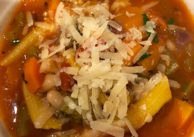 Recipe of Speedy Minestrone soup