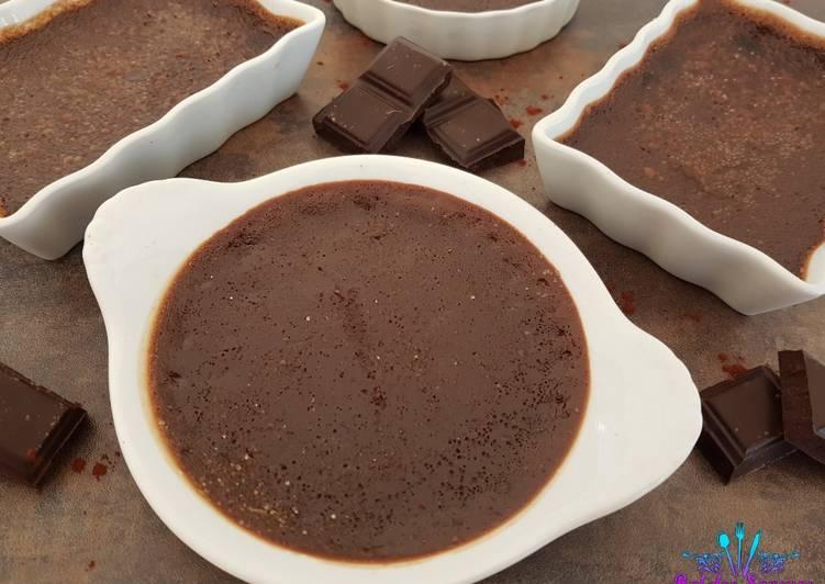 Crème brûlée au chocolat au Thermomix