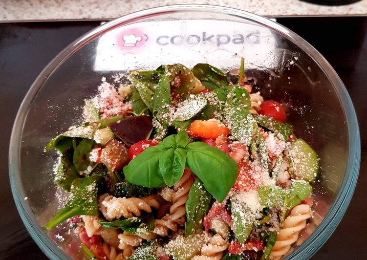 Easiest Way to Prepare Award-winning My Italian inspired Pasta Salad with pancetta. ????