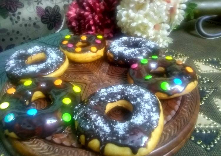 Yummy Chocolate donuts