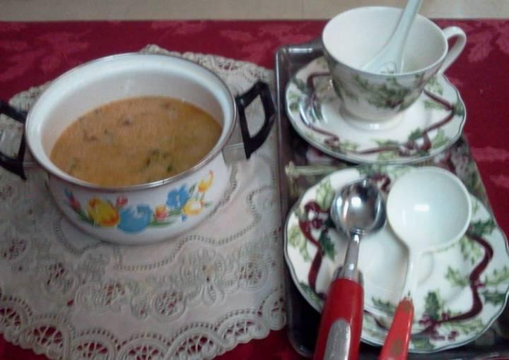 Ginger-Garlic soup