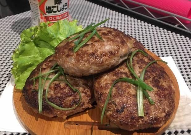 Hamburger beef steak