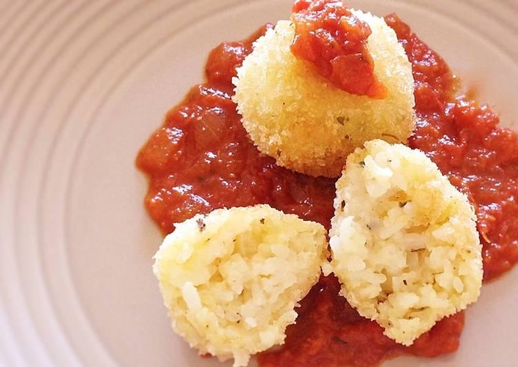 Rice Croquette (Vegetarian)