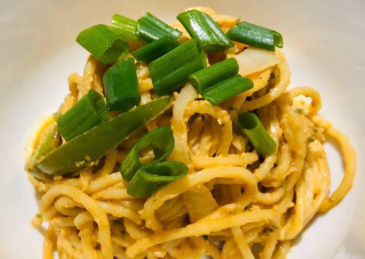 Quick Peanut Noodles 🍝