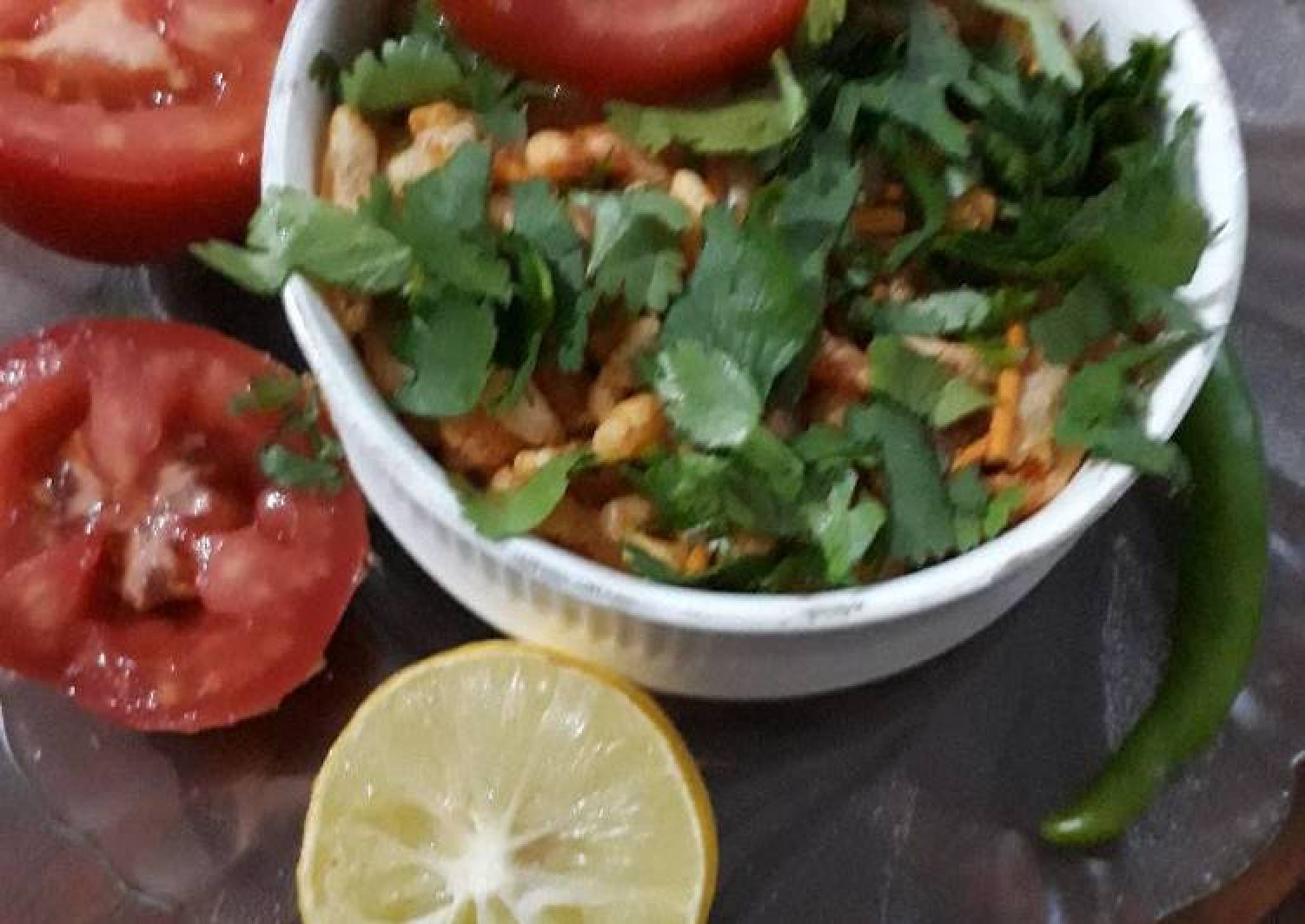 Sprouted Masala Bhel