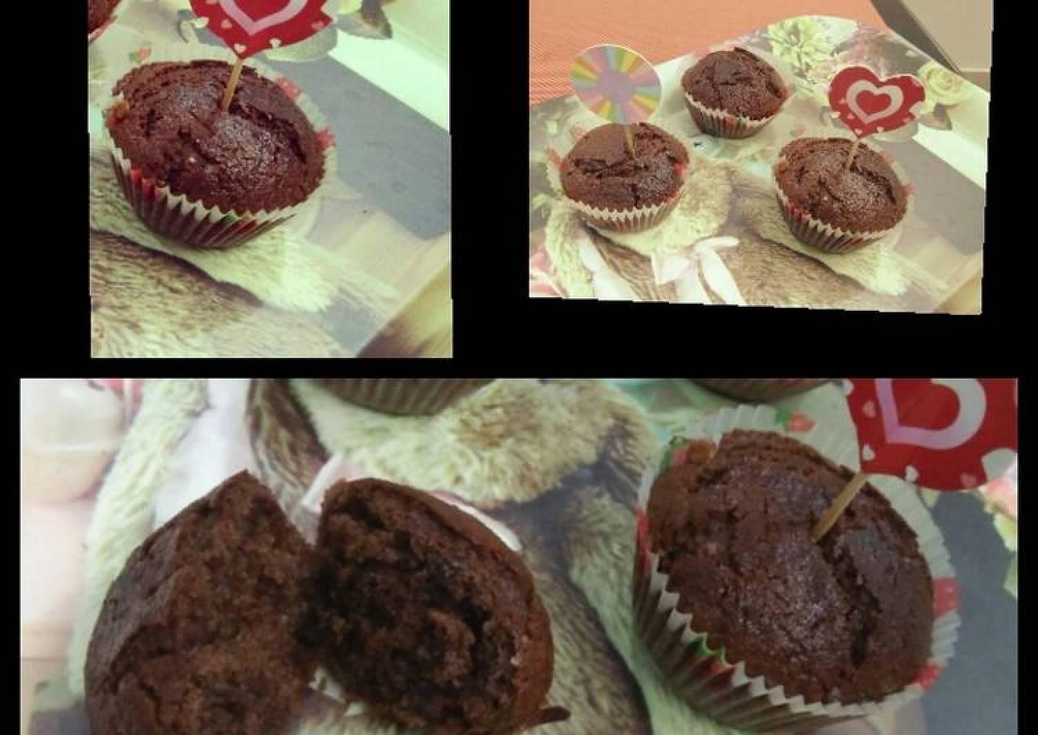 Chocolate muffin (eggless)