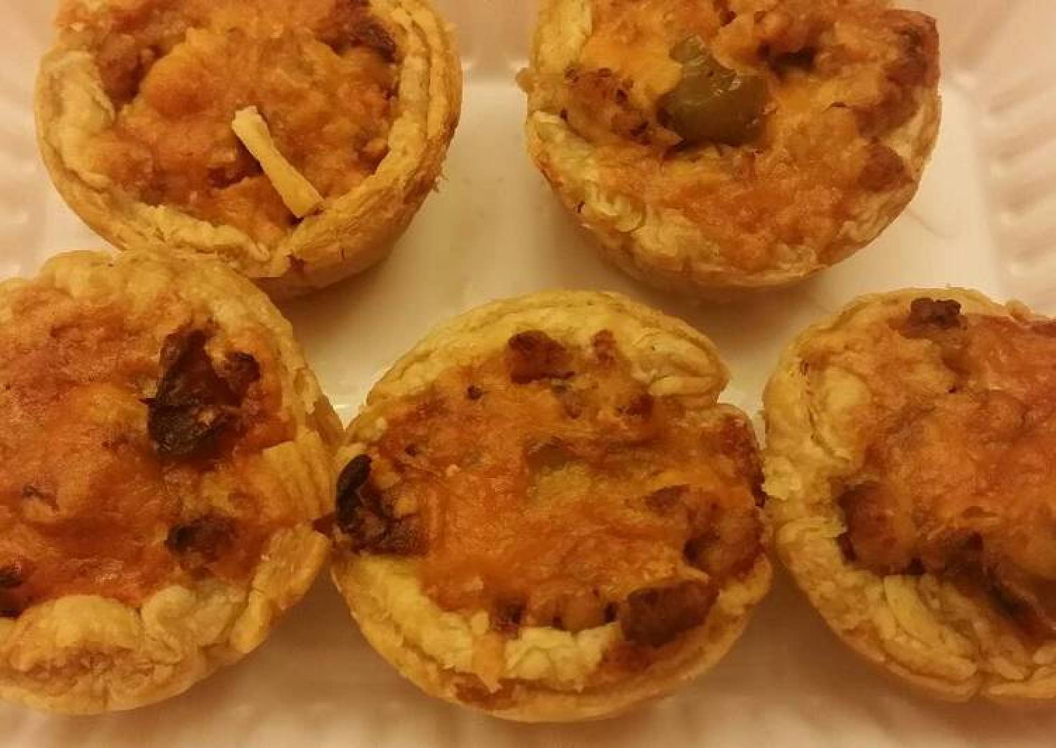 Puff pastry with chicken
