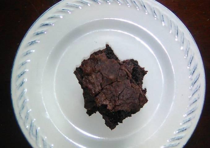 Brownie con cocoa