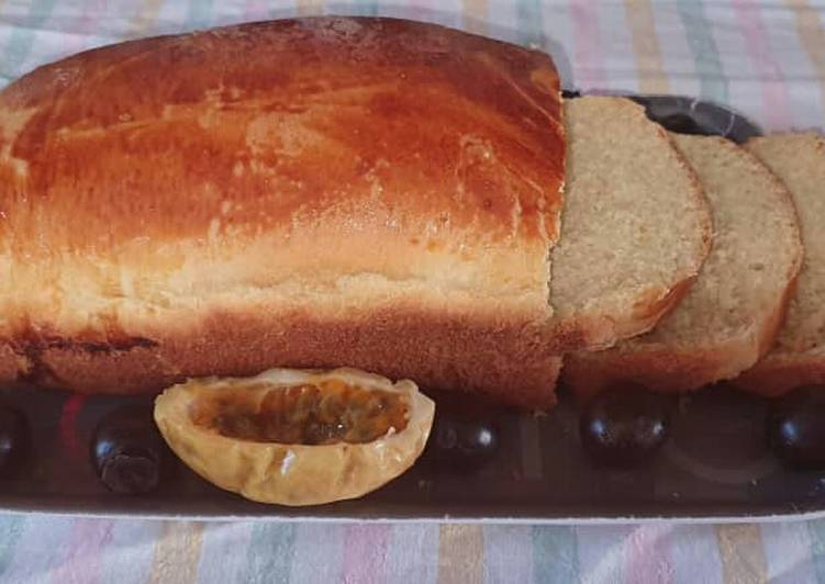 Recipe of Homemade Soft and Buttery Milk and Yoghurt Bread Recipe