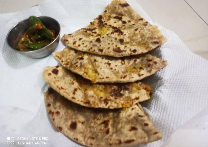Recipe of Jamie Oliver Cauliflower thepla