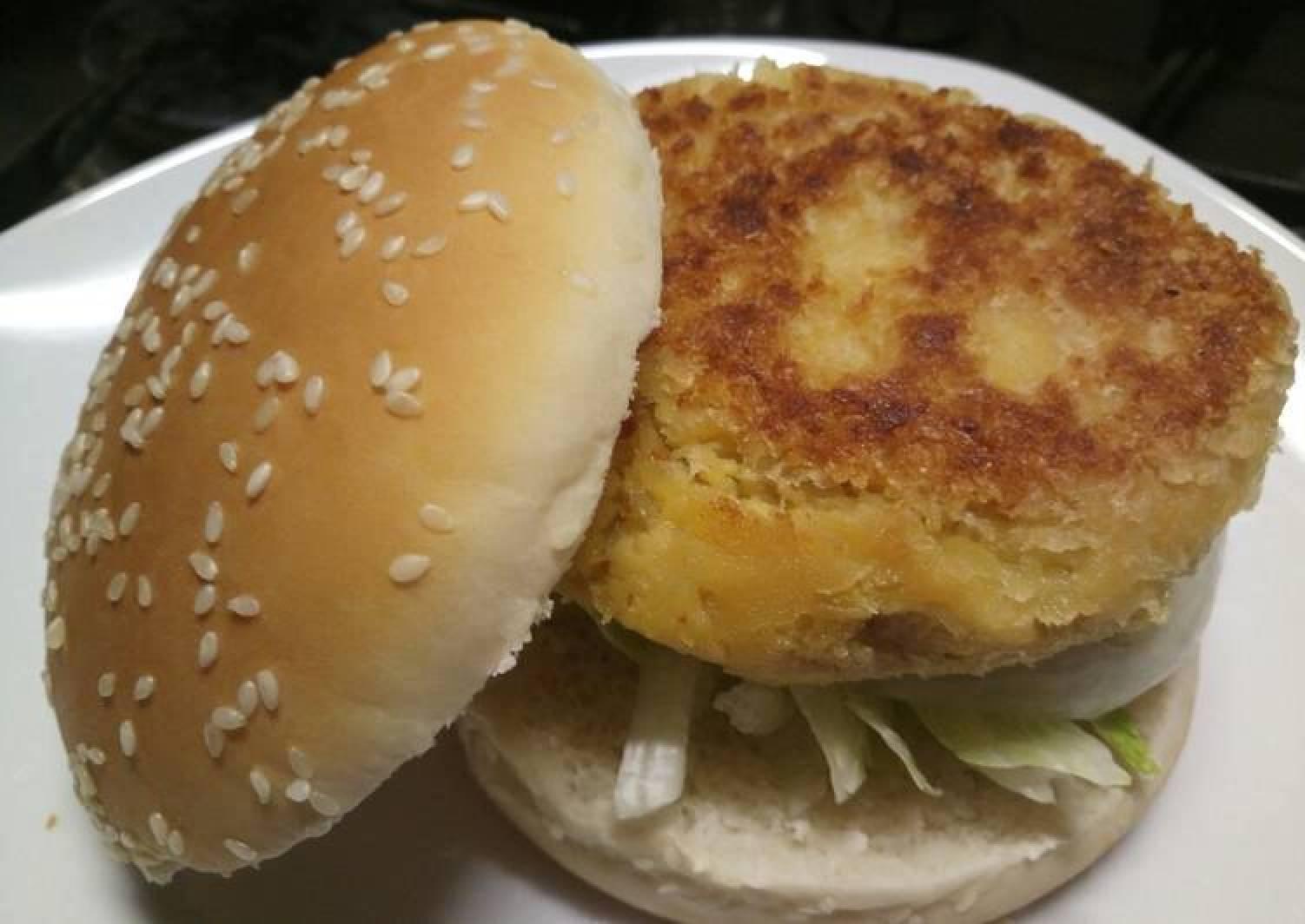 Chickpea burger alla Fluffy