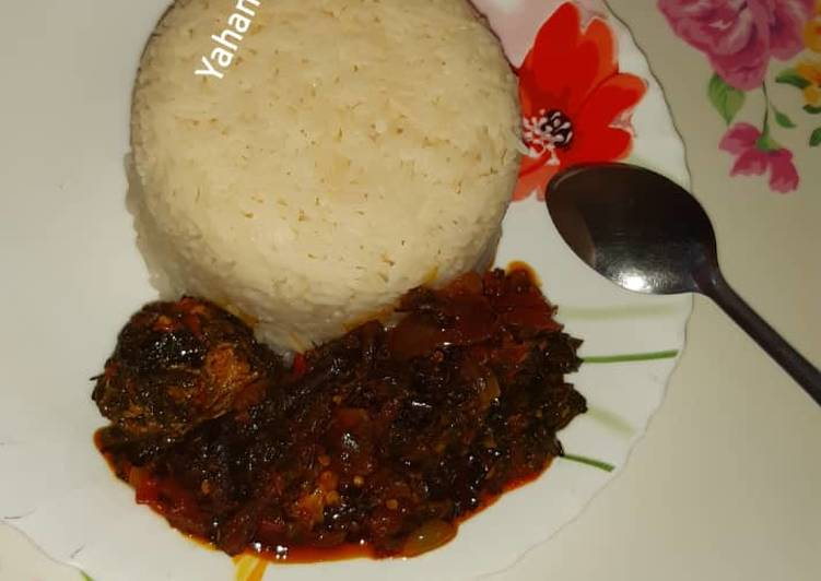 Vegetable soup with rice