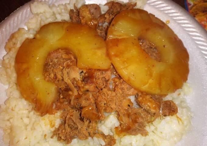 Hawaiian BBQ Pulled Pork