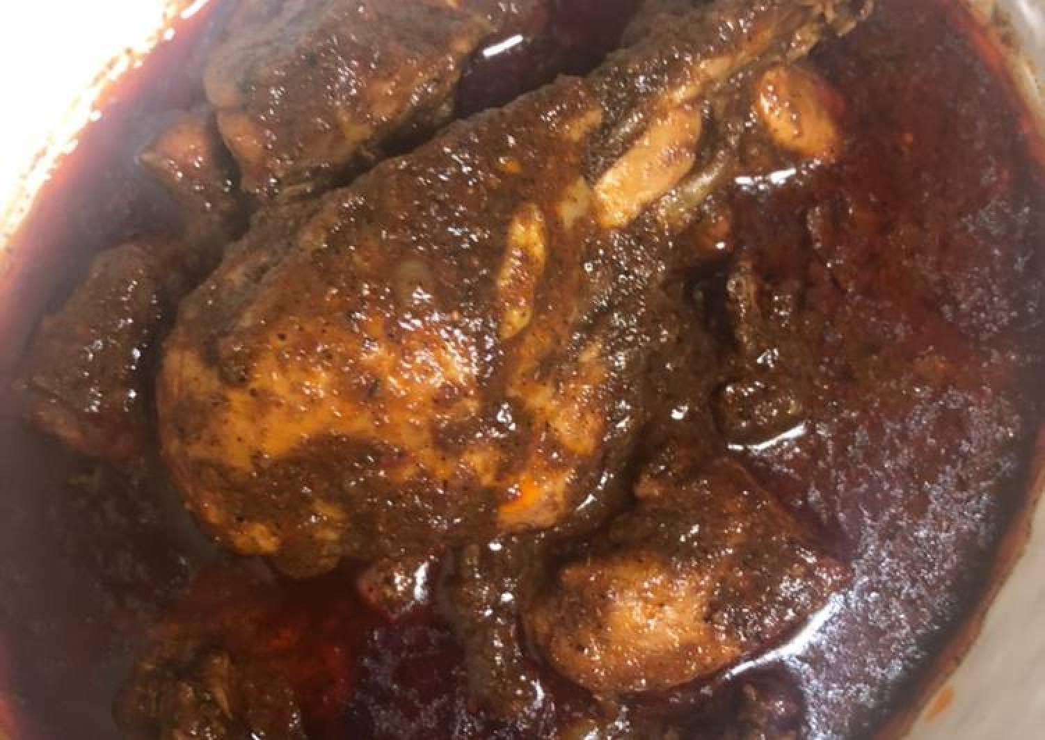 Nagpur style Sauji chicken curry