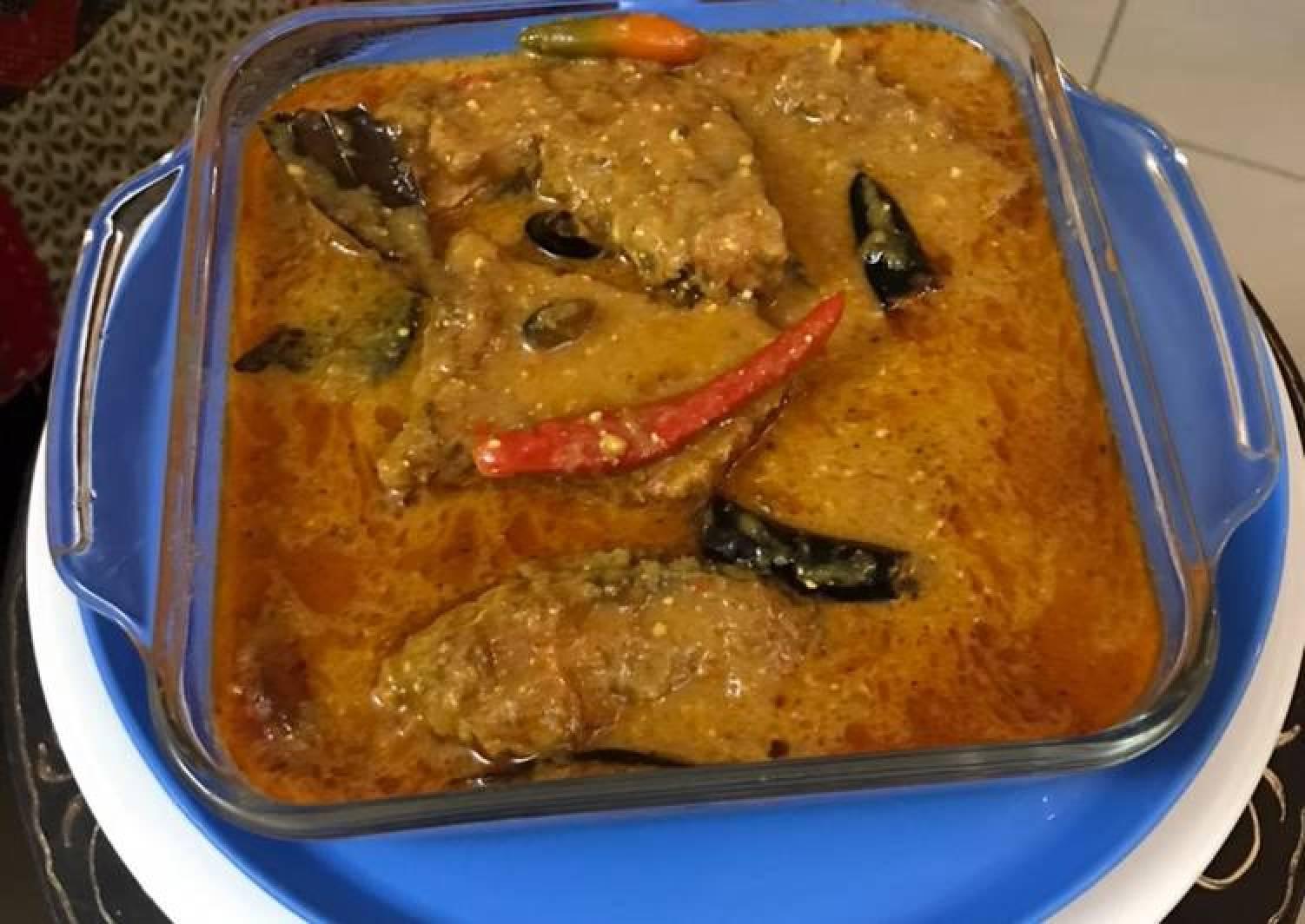 Doi Katla Machh Carp Rohu Fish in the Yoghurt Gravy