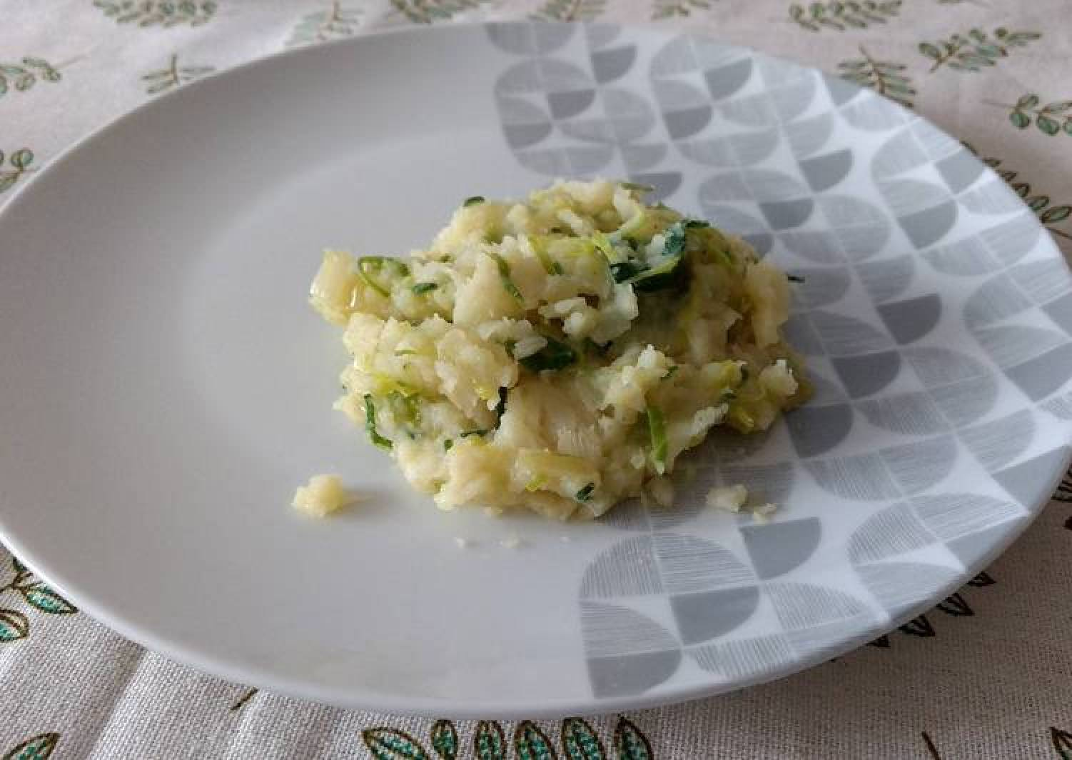 Smashed Parsnips and Potatoes Puree