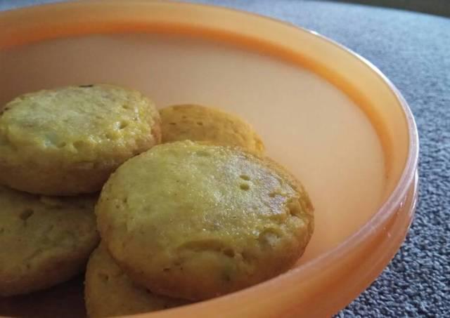Pancake ikan finger food 10m+ (bisa untuk lauk anak)