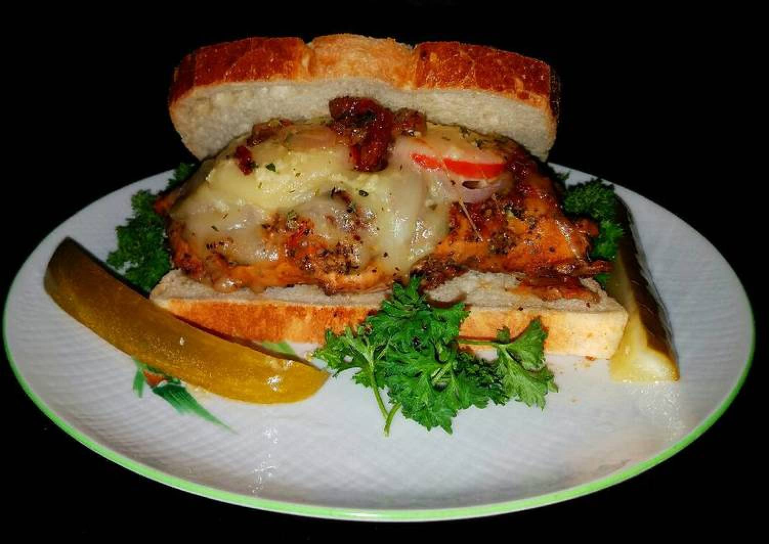 Mike's Chicken Margarita Breast Sandwiches