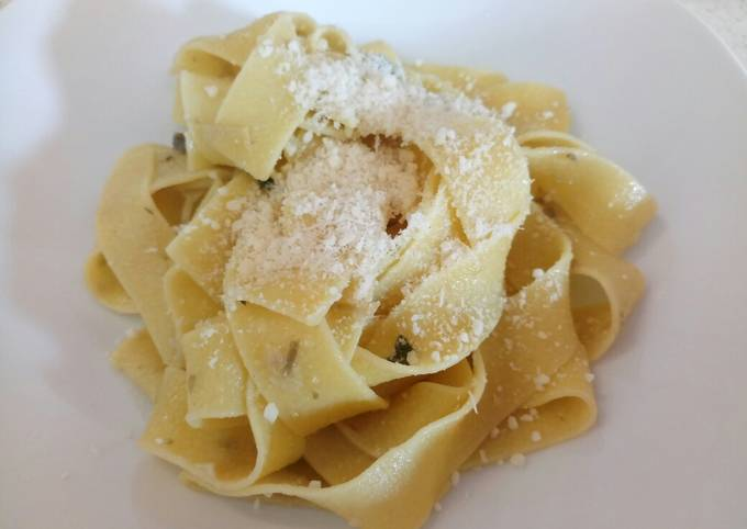 Step-by-Step Guide to Make Tasty Pappardelle with artichoke and sage sauce