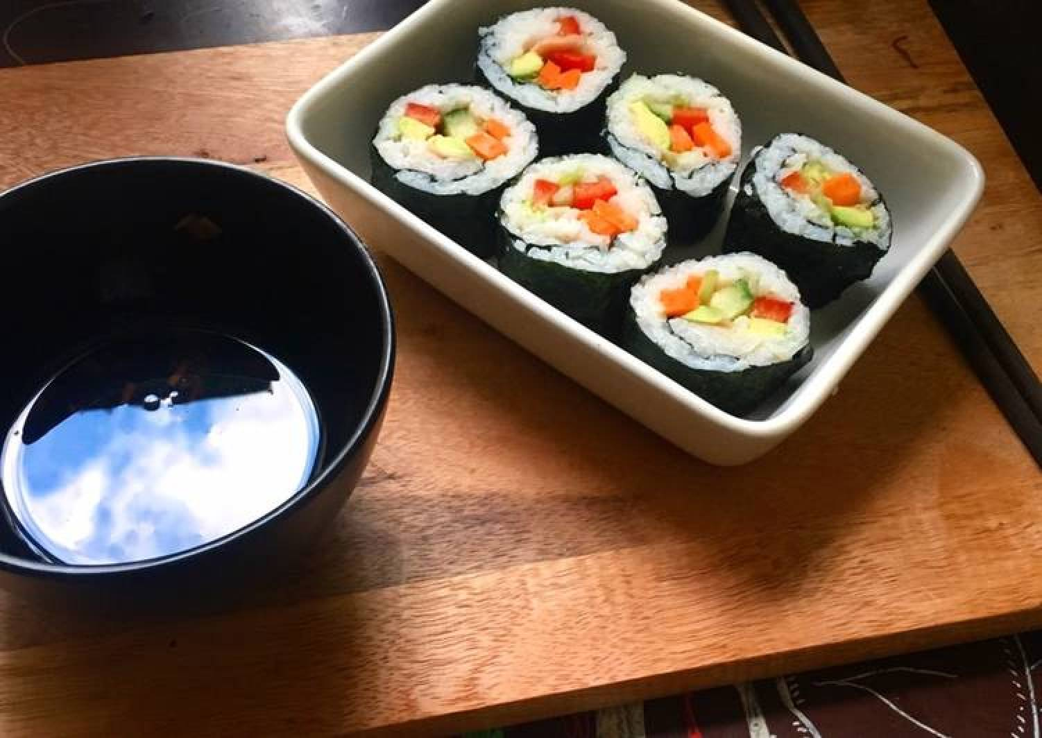 #Vegan Sushi! 🍣🍙