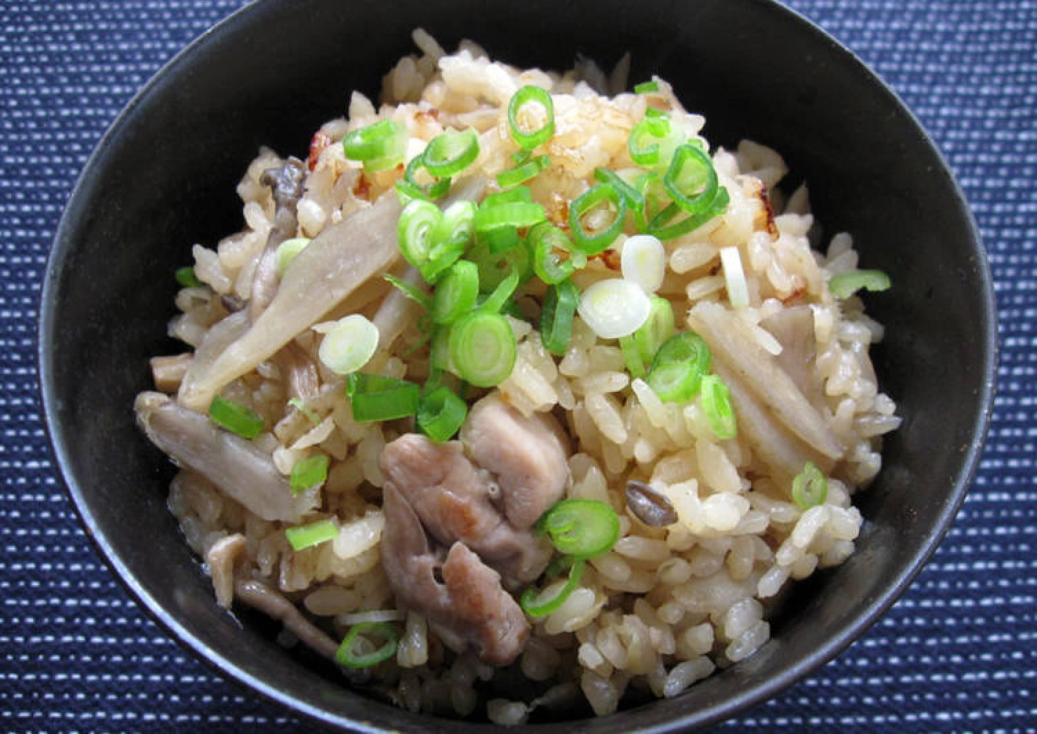 Chicken & Gobō Takikomi Gohan