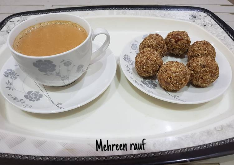 Dates & oats balls(Energy snack)
