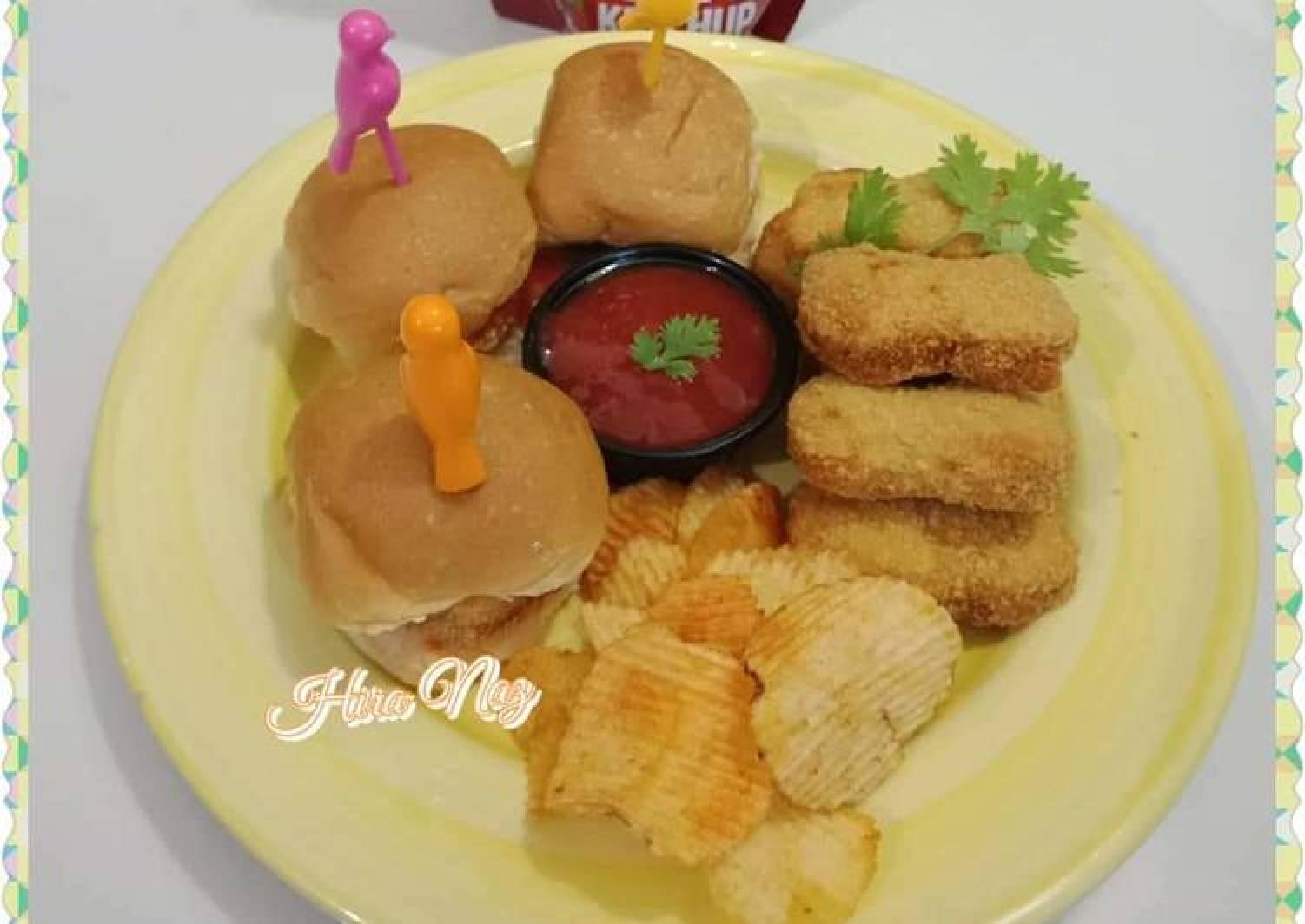 Mini Nuggets Burger