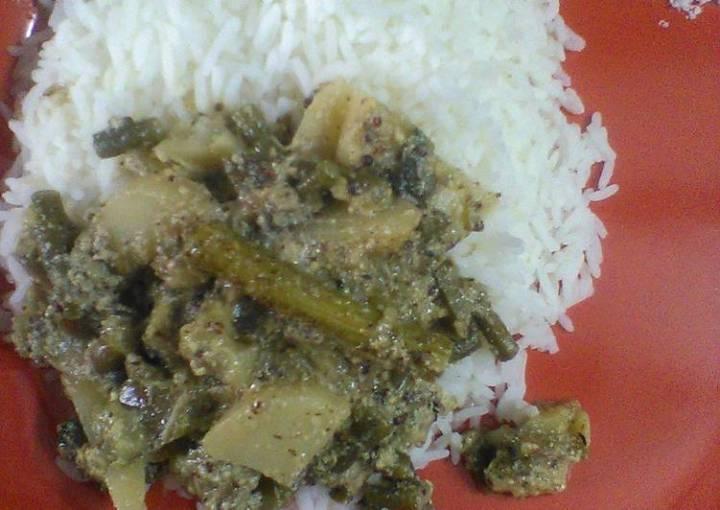 Mix veg mustard curry
