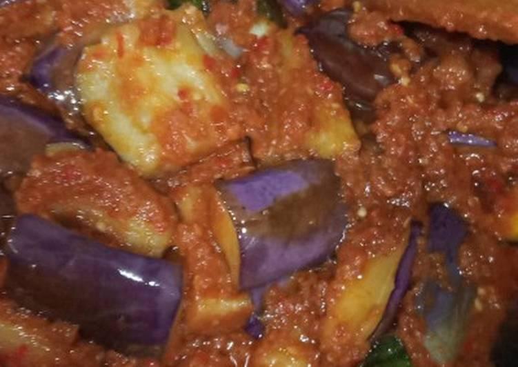 Resep Balado terong ungu
