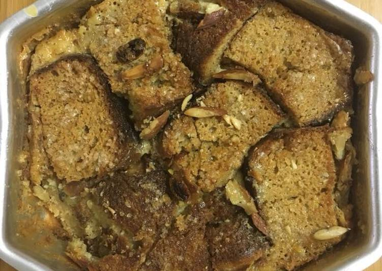 Step-by-Step Guide to Prepare Speedy Bread pudding