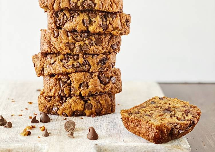 Steps to Make Award-winning Moist Chocolate Chip Banana Bread