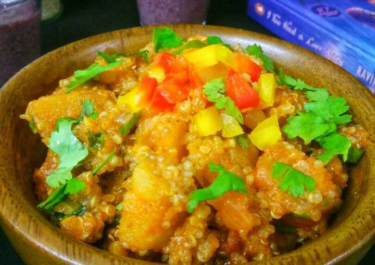 Quinoa And Sweet Potatoes