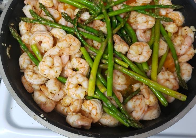 Spicy butter garlic shrimp (keto friendly)