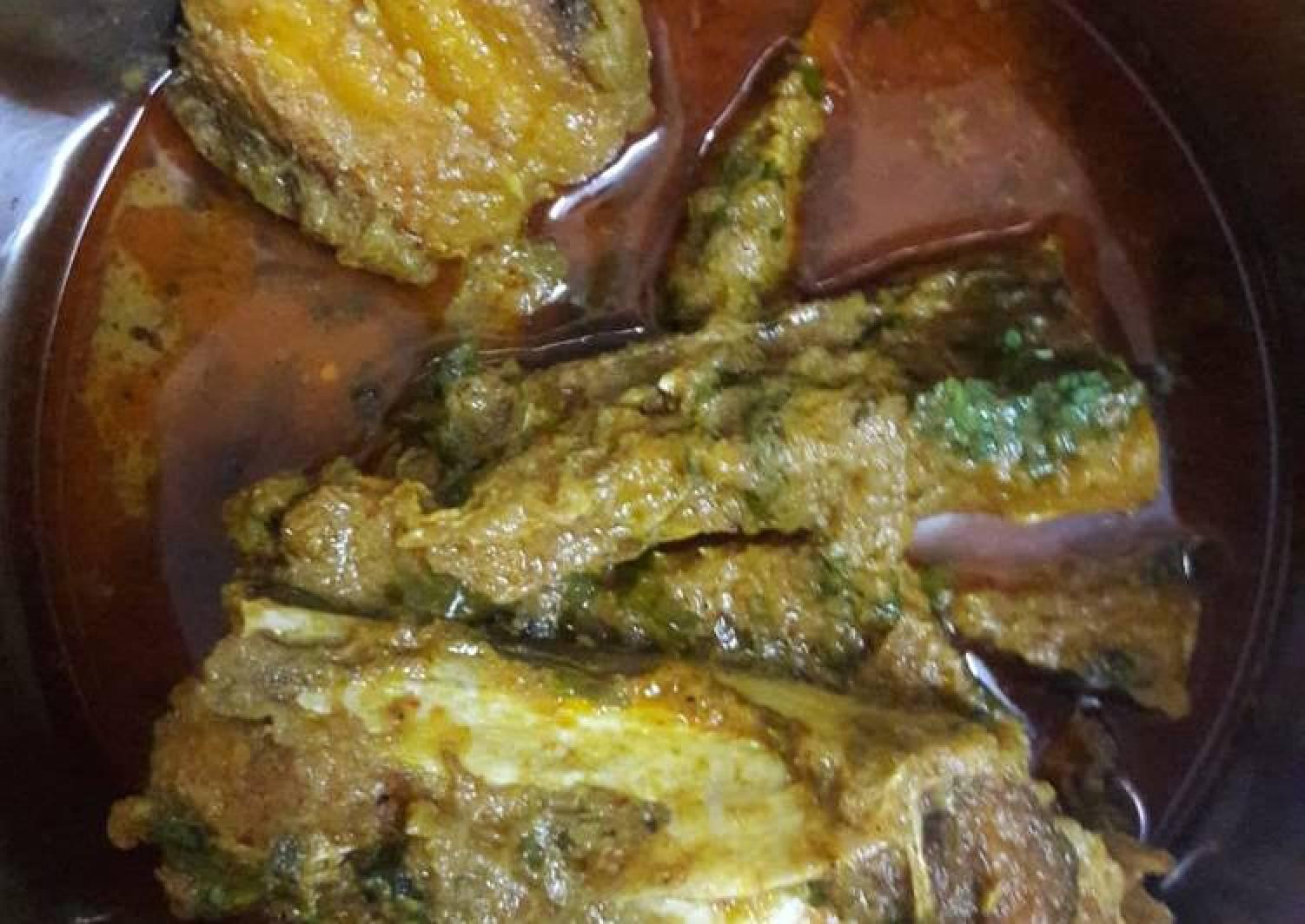 Katla Kalia(fish curry)