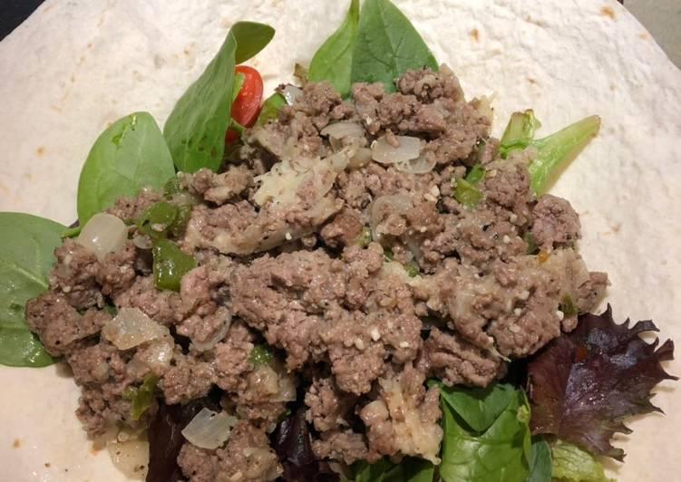 Recipe of Speedy Montreal Steak Style Burrito