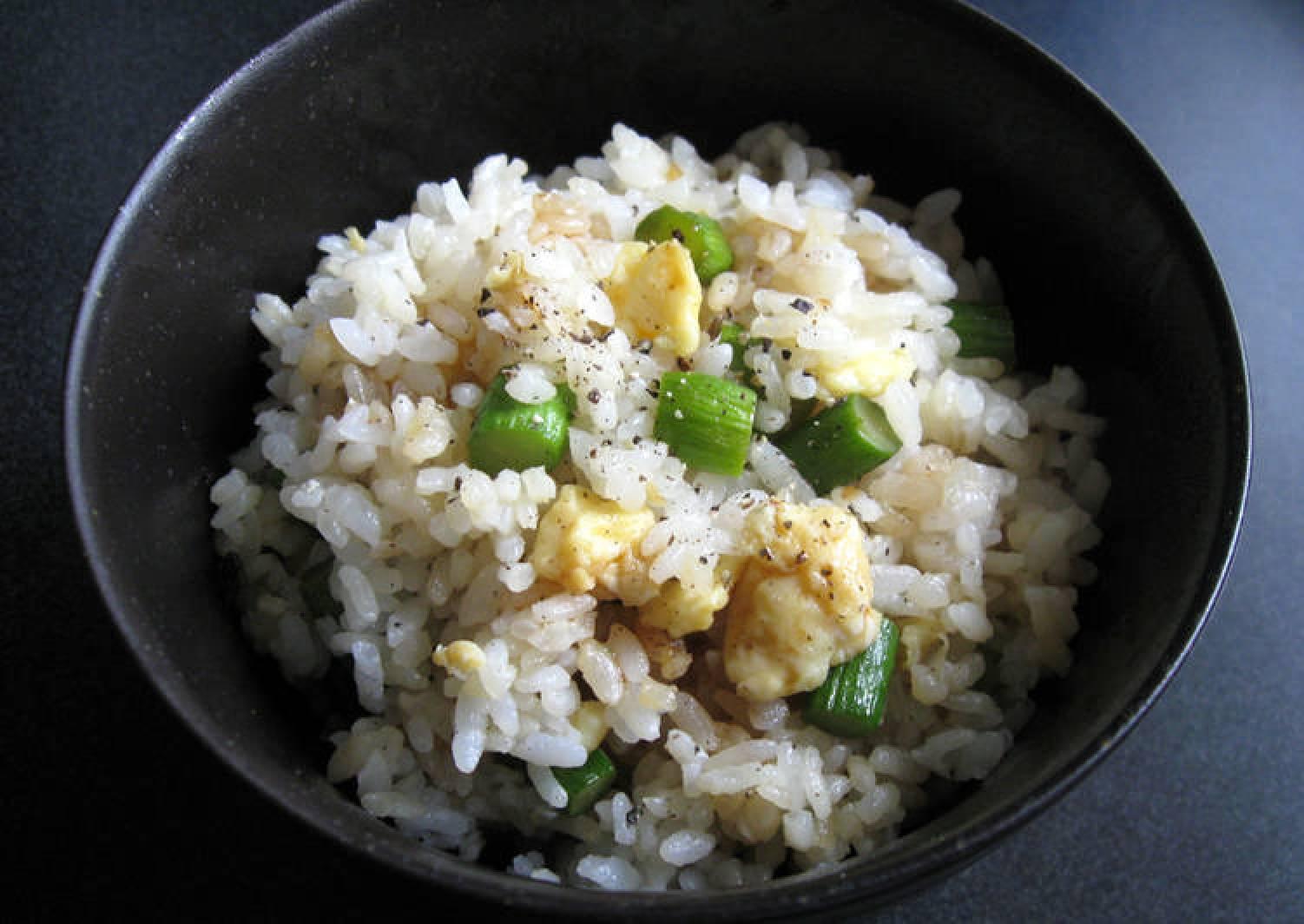 Asparagus & Egg Mazegohan