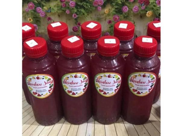 Diet Juice Blackcurrant Strawberry Lemon Chiaseed