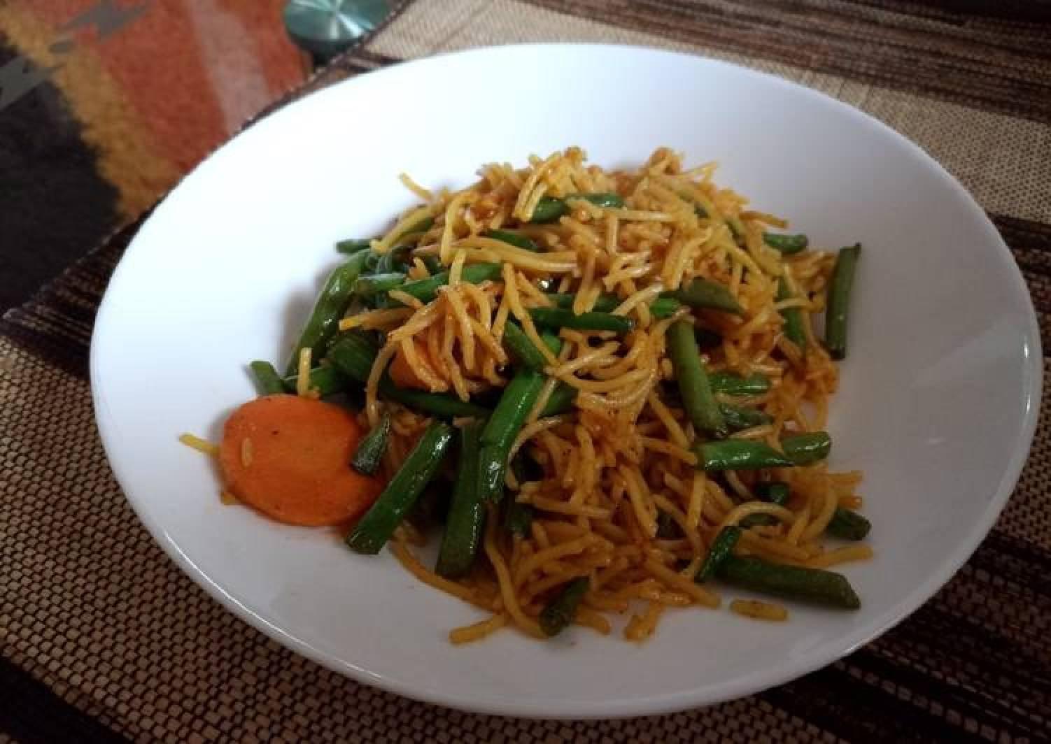 Spicy veggy pasta