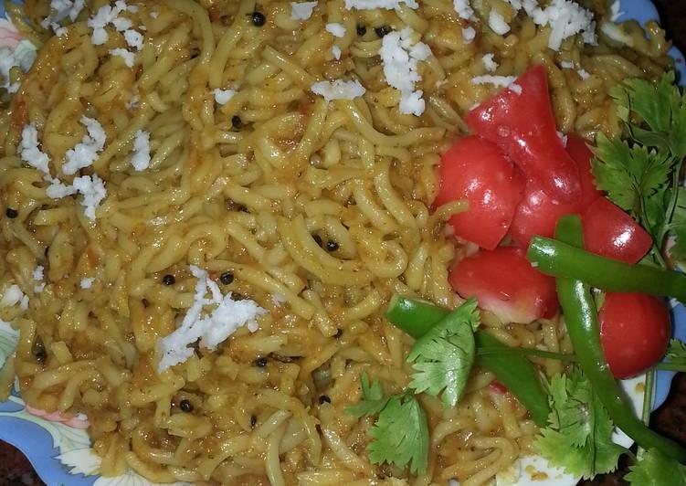 Tomato Sauced noodles