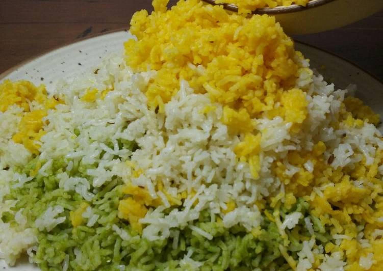 Tricolour Rice